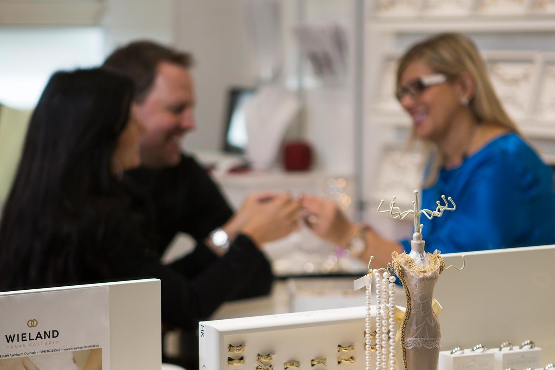 Über Uns - Trauringe Schmuck Juwelier Wieland in München